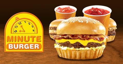 minute burger franchise how much