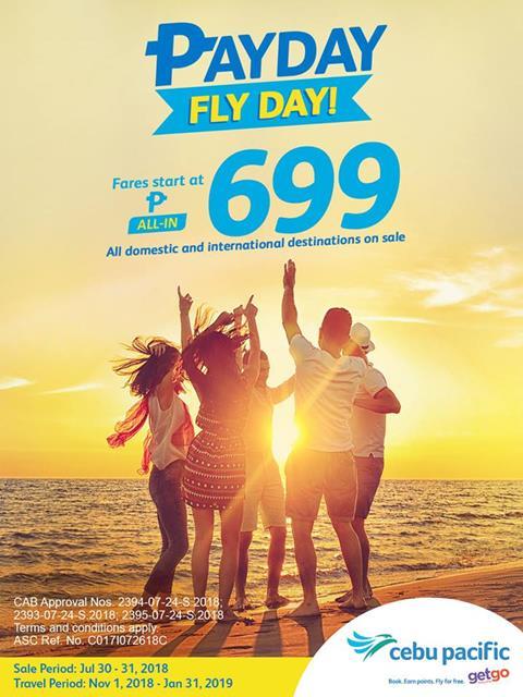Cebu Pacific Flight Promo