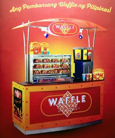 Waffle Time Franchise cart